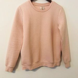 Forever 21 Exclusive Pullover Sweater Blush pink